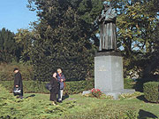 Comenius statue in Naarden
