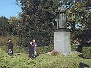 Comenius statue in Naarden