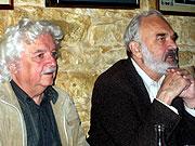 Ladislav Smoljak (vlevo) aZdeněk Svěrák
