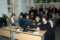 Otevření Centra vizuální historie Malach (Foto: Jana Šustová)
