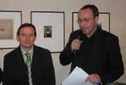 Jiří Čunek a moderátor besedy Jan Pokorný (Foto: Jana Šustová)