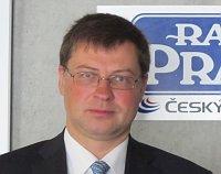 Valdis Dombrovskis, photo: Kristýna Maková