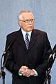 Der tschechische Prsident Vaclav Klaus