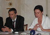 Martin Mejstřík y Jana Hybášková (Foto: Martina Schneibergová)