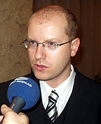 Ministr financ Bohuslav Sobotka, foto: Autor