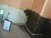 Dům Davidových po srpnových povodních (Foto: Kristýna Maková)