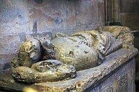 La tumbe de Bořivoj II à la cathédrale Saint-Guy au Château de Prague, photo: Barbora Kmentová