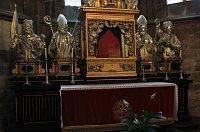 Oltář sv. Vojtěcha ve Svatovítské katedrále