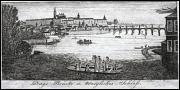 Charles Bridge, engraving by J. Hasse