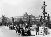 Charles Bridge during the World War II