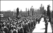 Sokols on Charles Bridge in 1929
