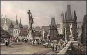 Charles Bridge in 1832