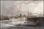 Charles Bridge in 1840