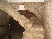 Pfeiler der Judithbrücke