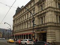 Café Slavia is located in the neo-Renaissance Lažan Palace, photo: Ian Willoughby