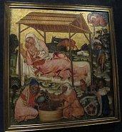 Geburt Jesu Christi vom Meister des Altars von Vyšší Brod (Foto: Kristýna Maková)