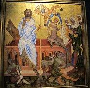 Auferstehung Jesu Christi vom Meister des Altars von Vyšší Brod (Foto: Kristýna Maková)