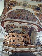 Stavba nových varhan