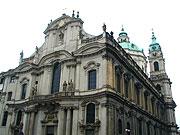 Eglise Saint-Nicolas à Mala Strana