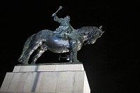 Статуя Яна Жижки из Троцнова, Фото: Кристина Макова, Чешское радио - Радио Прага