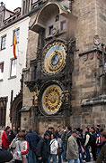 Die astronomische Uhr auf dem Altstädter Ring