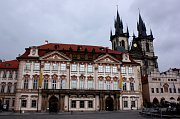 The Kinsk Palace in Prague