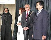 Václav Klaus (vlevo) aJiří Weigl