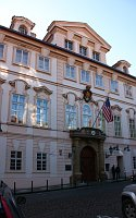 US embassy in Prague