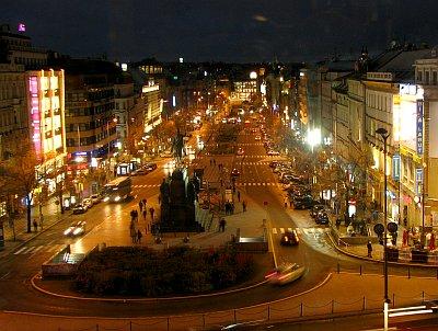 Prag einkaufsstraße