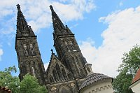 Костел святых Петра и Павла на пражском Вышеграде (Фото: Кристина Макова, Чешское радио - Радио Прага)