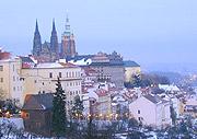 Prager Burg im Winter