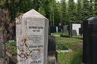 Franz Kafka's grave, photo: Štěpánka Budková