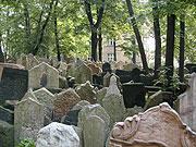 El cementerio judío en Praga
