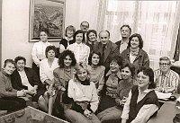 In der deutschen Redaktion waren in den 1980er Jahren 18 festangestellte Redakteure beschäftigt (Foto: Archiv von Andreas Fessler)