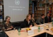 Tisková konference k Evropskému týdnu proti rasismu (Foto: Jana Šustová)