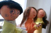 Die Kinder haben sich selbst gebastelt (Foto: Romy Ebert)