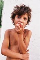 Romský chlapec z Podkarpatské Rusi (Foto: Petr Axmann)