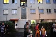 Romové ve Varnsdorfu, městská ubytovna (Foto: Filip Jandourek)