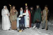 Svatá Rodina s andělem a třemi krály (Foto: Jana Šustová)