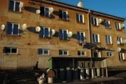 Bytový dům obývaný Romy v Dobré Vodě u Toužimi (Foto: Jana Šustová)