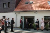 Slavnostní otevření zrekonstruovaného domu (Foto: Jana Šustová)