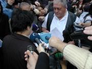 Džamila Stehlíková převzala od Romů petici (Foto: J. Šustová)