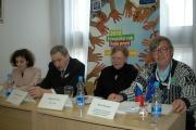Tisková konference k Národnímu setkání lidí se zkušeností s chudobou a sociálním vyloučením (Foto: Jana Šustová)