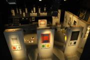 Expozice Kočování v Charleroi