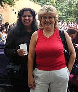 Anna Fečová (vlevo) s Erikou Fečovou (Foto: Anna Poláková)