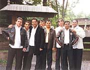 Skupina Bengas na festivalu Romská píseň 2005