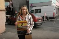 Růžena Pompová získala první místo v soutěži Cikánská buchta (Foto: Jana Šustová)