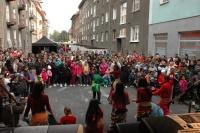 Taneční soubor romských dětí ze základní školy v Sokolově (Foto: Jana Šustová)