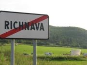 Premiéra filmu Cigán u vesnice Richnava na východním Slovensku (Foto: Vojtěch Berger)