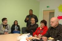 Na návštěvě v Ales v Sociálním centru pro Romy (Foto: Jana Šustová)